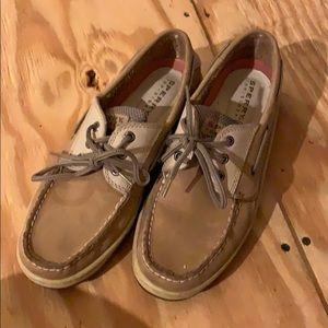 Men's tan loafers